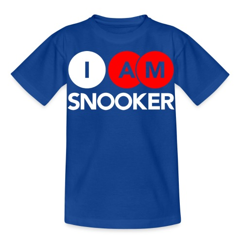 I AM SNOOKER - Kids' T-Shirt