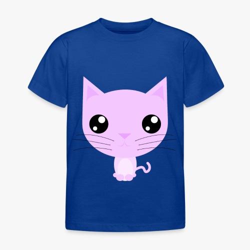 Kitty Pink - Børne-T-shirt