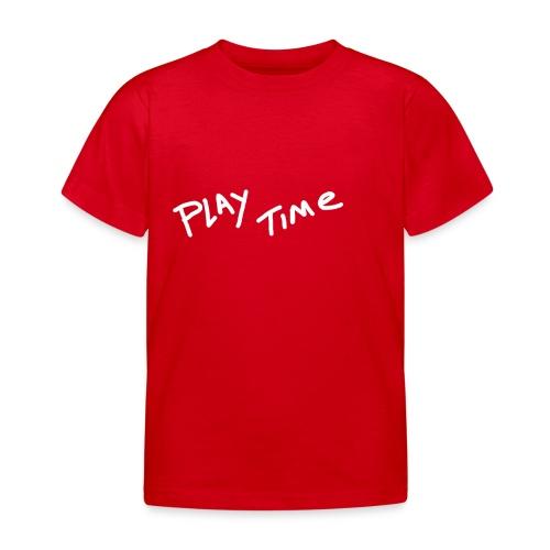 Play Time Tshirt - Kids' T-Shirt
