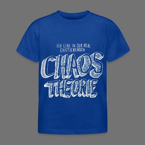 Chaostheorie (weiss) - Kinder T-Shirt