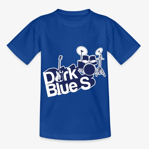 DarkBlueS outline gif - Kids' T-Shirt
