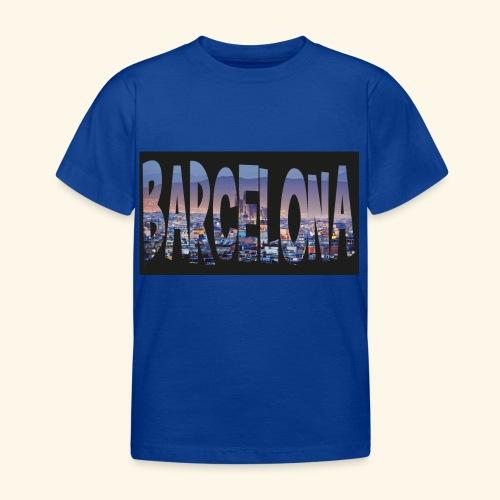Barcelona - spain - Kinderen T-shirt