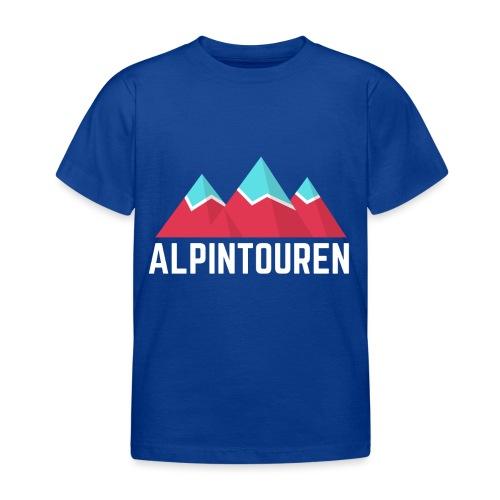Alpintouren Logo - Kinder T-Shirt