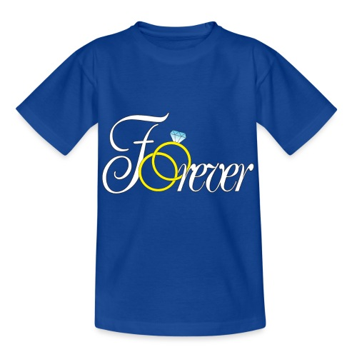 Forever Ringe. Für Immer - Kinder T-Shirt