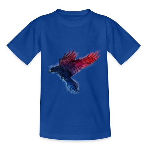 Watercolor Raven - Kinder T-Shirt