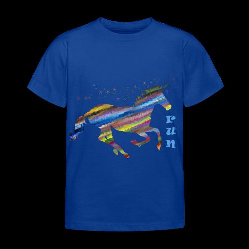 kunterbuntes Einhorn - Kinder T-Shirt
