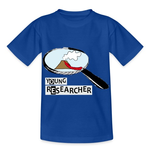 Young Researcher Volcano Wissenschaft - Kinder T-Shirt