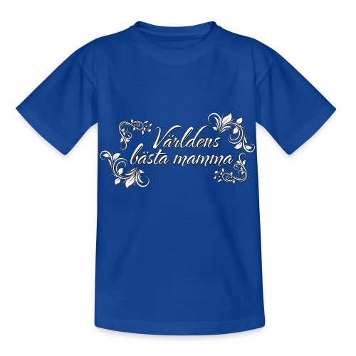 Världens bästa mamma - finaste mors dags presenten - T-shirt barn
