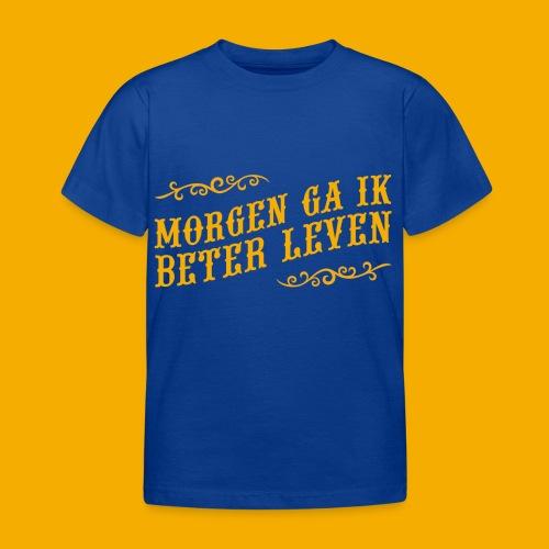 tshirt yllw 01 - Kinderen T-shirt