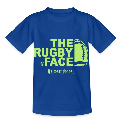 the face of rugby - T-shirt Enfant