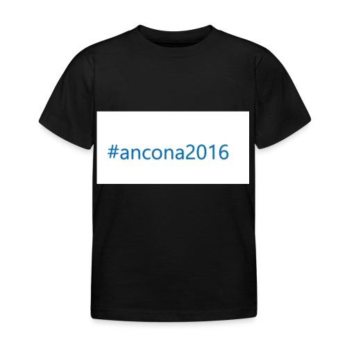 #ancona2016 - Camiseta niño