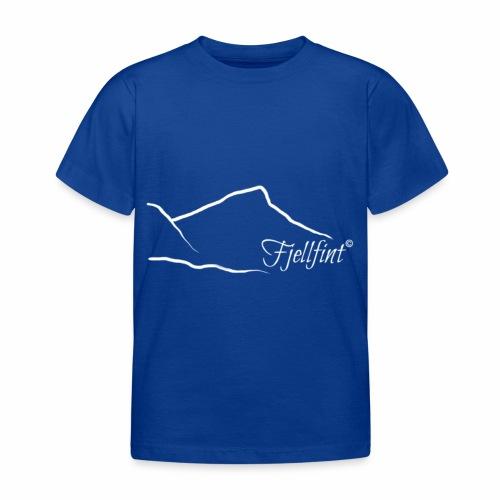 Fjellfint m/hvit logo - T-skjorte for barn