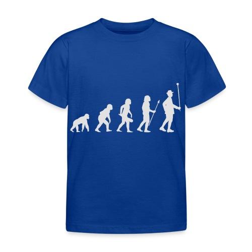 Evolution Stabführer weiß - Kinder T-Shirt