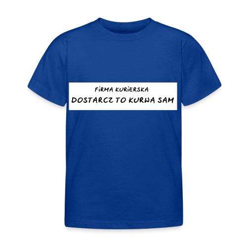 firma kurierska tyl - Koszulka dziecięca