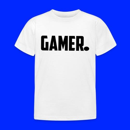 gamer. - Kinderen T-shirt