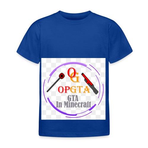 opgta logo - Lasten t-paita