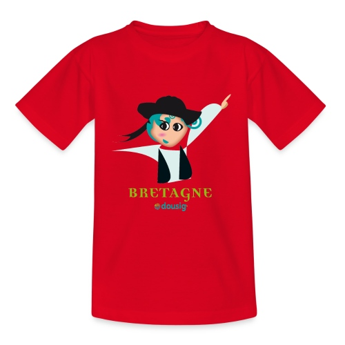 DOUSIG BIHAN - T-shirt Enfant