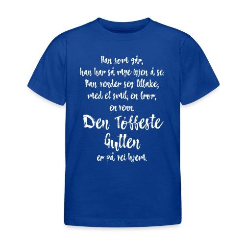 Den tøffeste gutten - T-skjorte for barn
