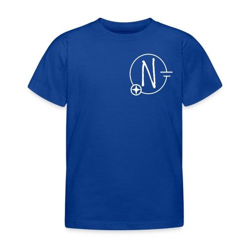 Nerdpol Logo White - Kinder T-Shirt