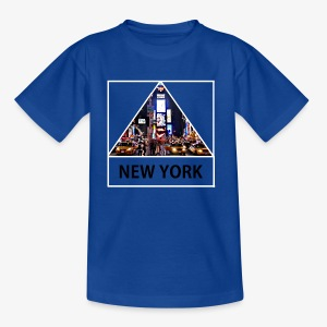 Triangle sur New York - T-shirt Enfant