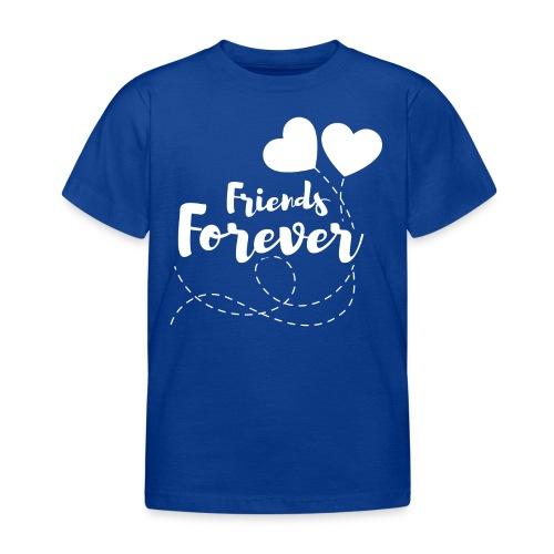 Friends forever Geschwister Zwillinge Partnerlook - Kinder T-Shirt