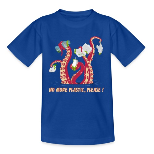 No more plastic ! - T-shirt Enfant