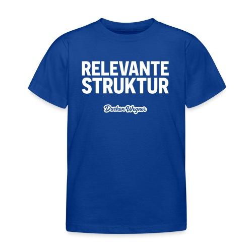 Relevante Struktur - Kinder T-Shirt