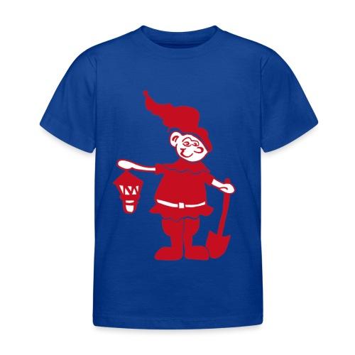 Auenzwerg Button - Kinder T-Shirt