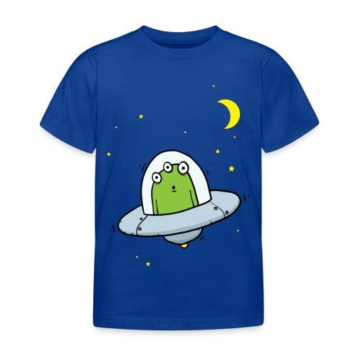 Flying Visit Alien With Stars - Kids' T-Shirt