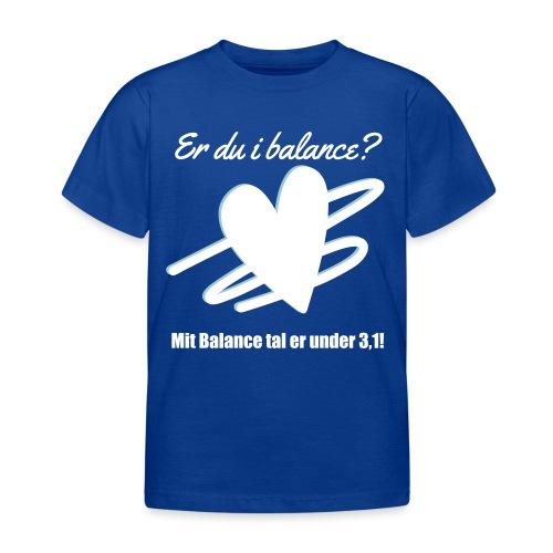 I Balance Design - Børne-T-shirt