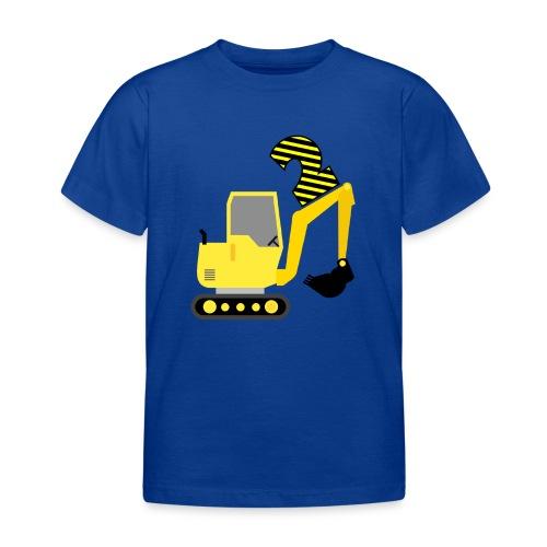 Drugie urodziny Koparka - Koszulka dziecięca
