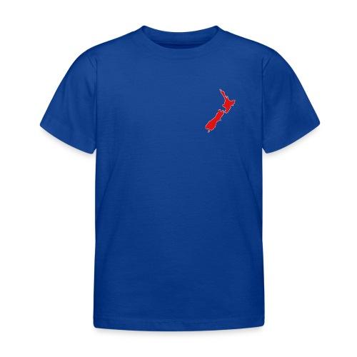 New Zealand Map - Kids' T-Shirt