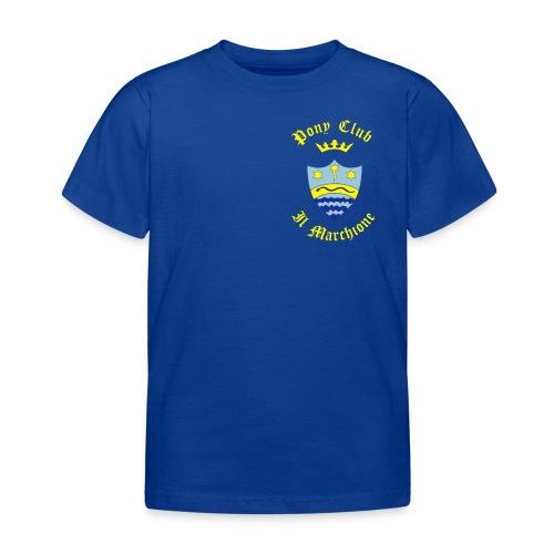 MARCHIONE SU FONDO BLU - Maglietta per bambini