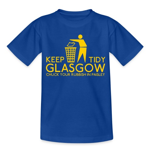Keep Glasgow Tidy - Kids' T-Shirt