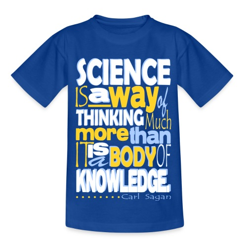 Carl Sagan Science - Kids' T-Shirt
