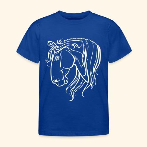Cheval espagnol (blanc) - T-shirt Enfant