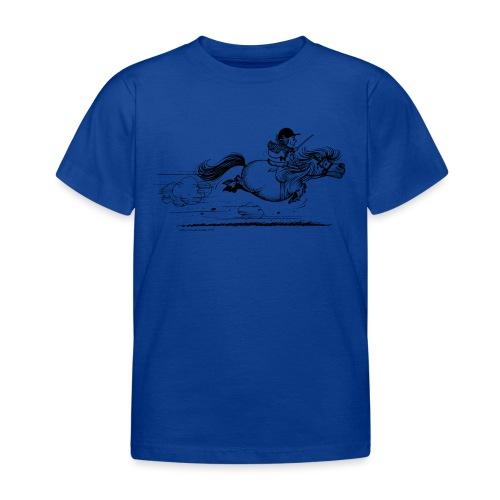 Thelwell Cartoon Pony Sprint - Kinder T-Shirt