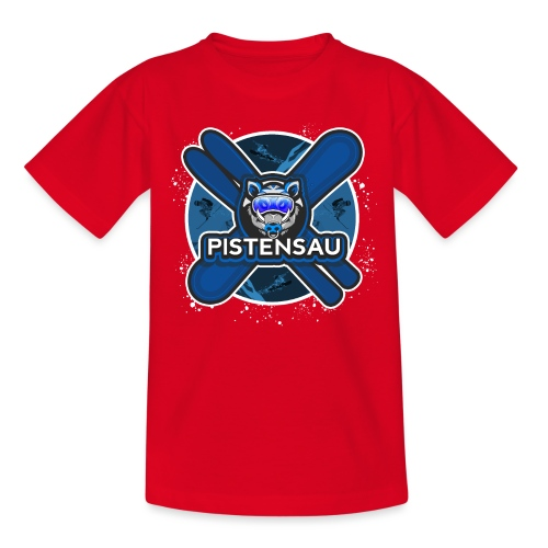 PistenSau NachtSki - Kinder T-Shirt
