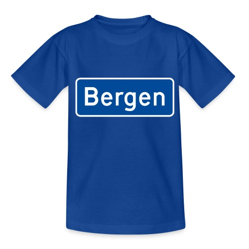 bergen - T-skjorte for barn