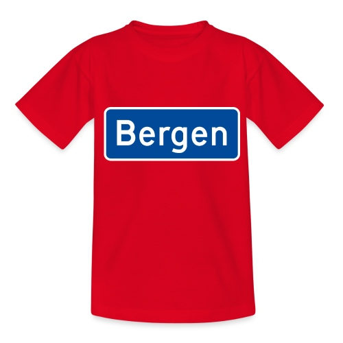 bergen - T-skjorte for barn