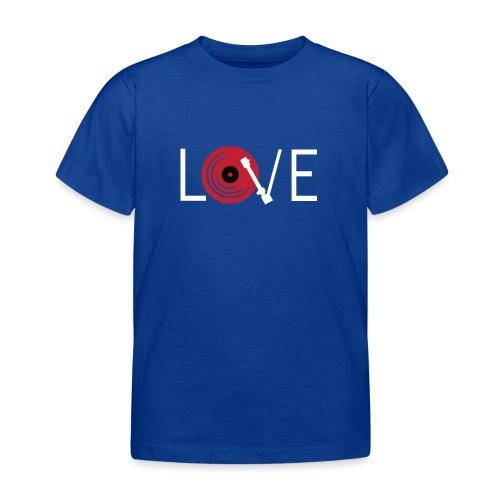 Love vynil - Maglietta per bambini