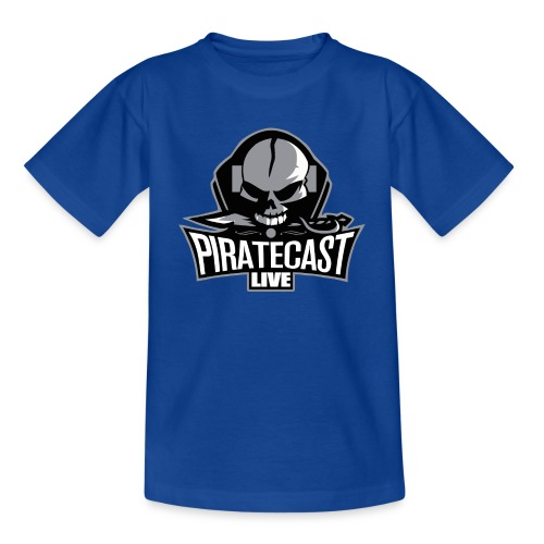 PirateCastLiveLogo - Kids' T-Shirt