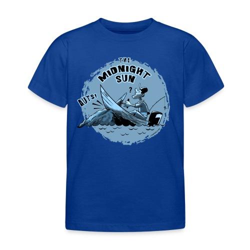 MIDNIGHT SUN, FUNNY FISHING TEXTILES, GIFTS - Lasten t-paita