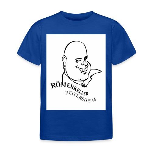 Roemerkeller weiss Logo Kopf OHNE RAND jpg - Kinder T-Shirt