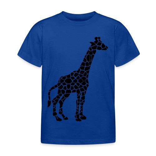 Giraffe (black) - Lasten t-paita