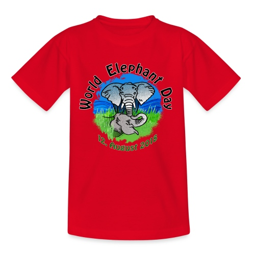 World Elephant Day 2018 - Kinder T-Shirt