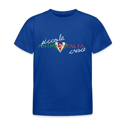 piccola anima d italia cresce 1A - Maglietta per bambini