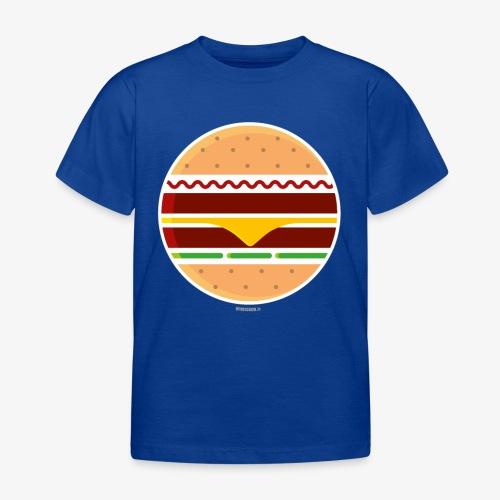 Circle Burger - Maglietta per bambini