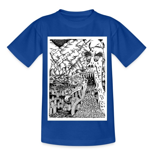 Sea Monsters T-Shirt by Backhouse - Kids' T-Shirt