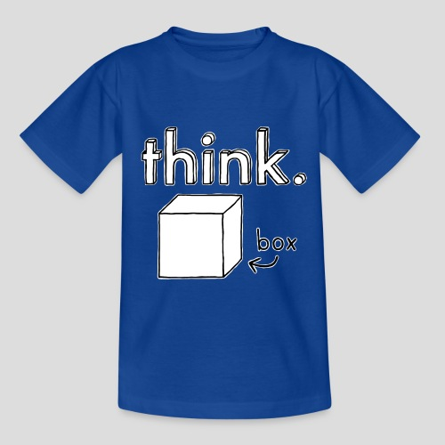 Think Outside The Box Illustration - Kids' T-Shirt